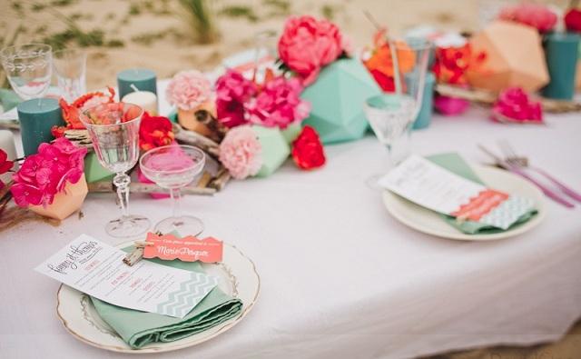 Fabuleux Idée de présentation pour vos plans de table - La Mariée en Colère  GB72