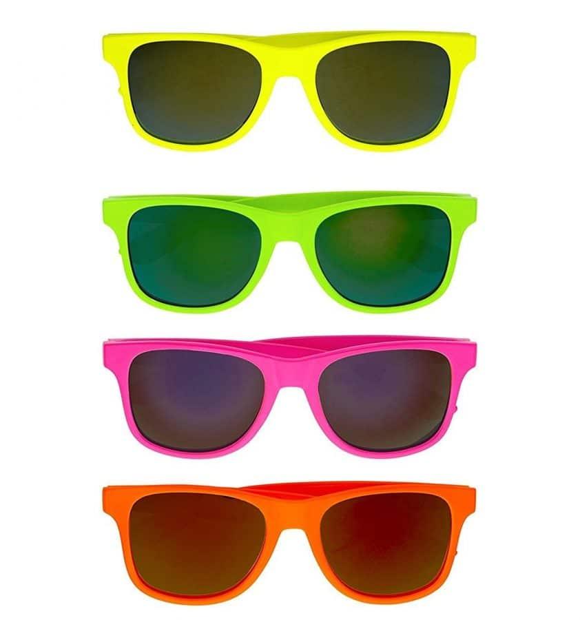 lunettes de soleil plastique mariage