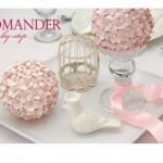 boule fleur papier 150x150 Un DIY & un Kit gratuit à imprimer : Merci Le Candy Bar