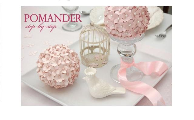 DIY mariage : Boules de fleurs en papier