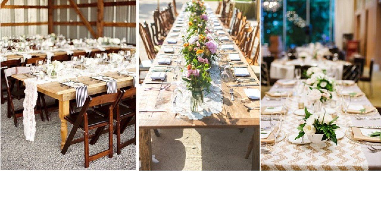 Decoration Mariage Les Tables Banquet