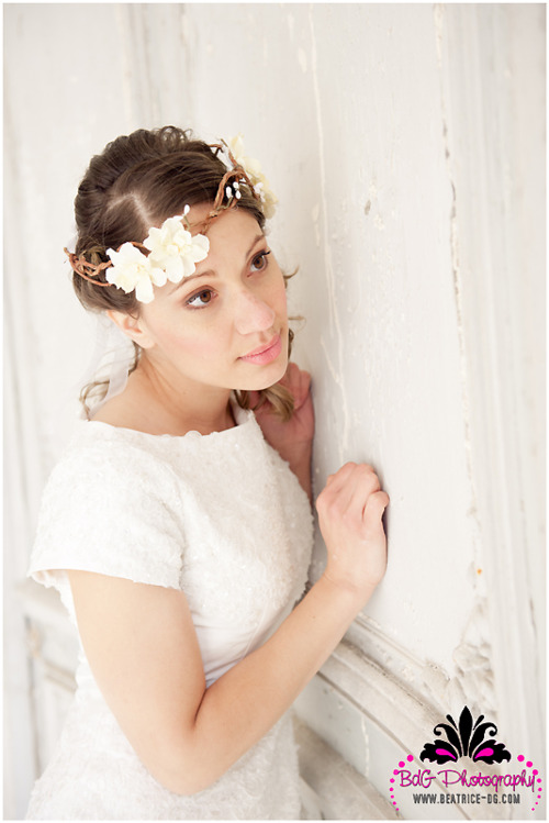 Shooting d'inspiration mariage «Alice au Pays des merveilles»