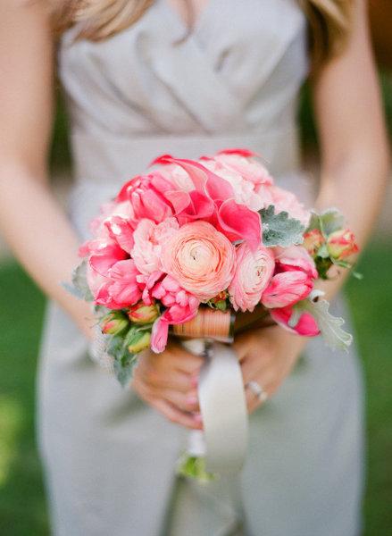 Bouquet de la Mariée : Le rose dans tous ses états