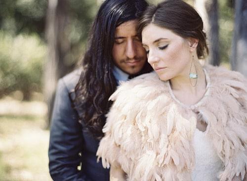 Se marier au lever du soleil… Vrai mariage {Nina & Jon}