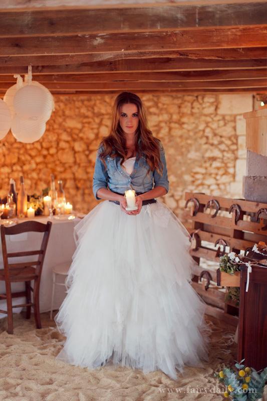 Décoration mariage : Shooting d'inspiration Rustique Chic (part 2)