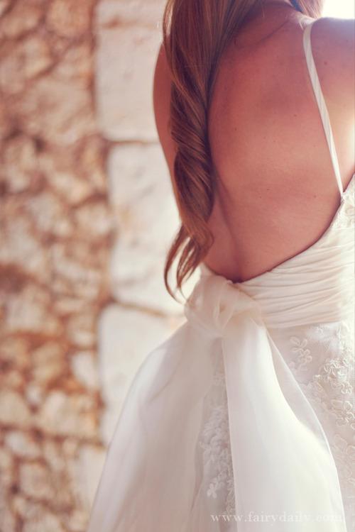 Comment est fabriquée une robe de mariée ?