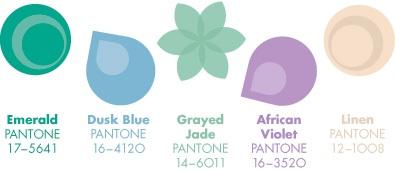 Les couleurs tendances du Printemps 2013