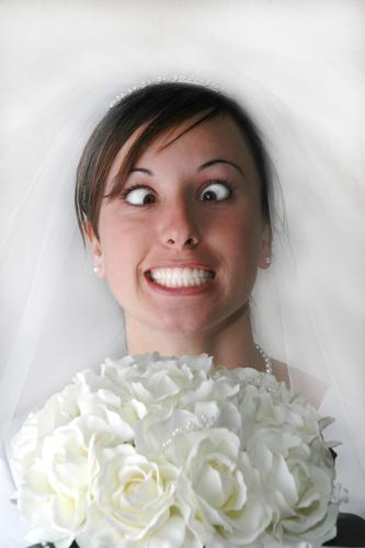 mariée en colère