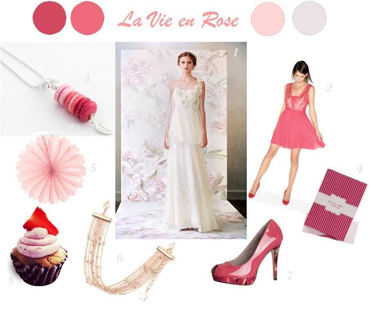 {Décoration Mariage} Inspiration Rose