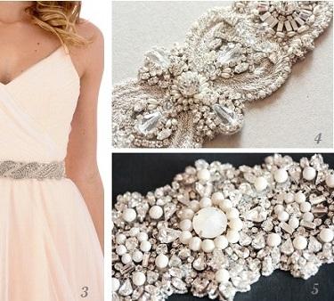 «Wedding Sash» : la nouvelle tendance pour les mariées.