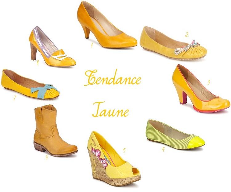 {Shopping Mariage} Les chaussures jaunes de la Mariée