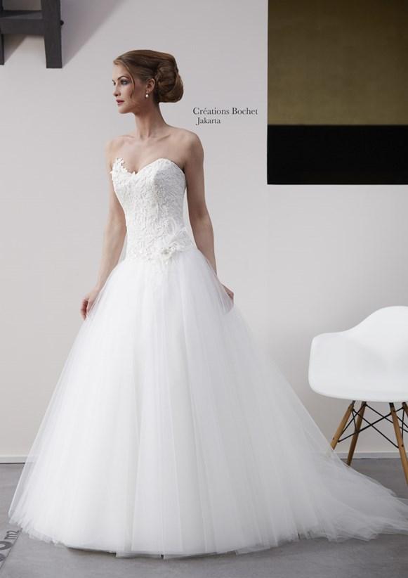 robe de mariée princesse Créations Bochet modèle jakarta - La ...