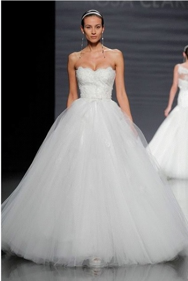 robe de mariée princesse rosa clara - La Mariée en Colère Blog ...