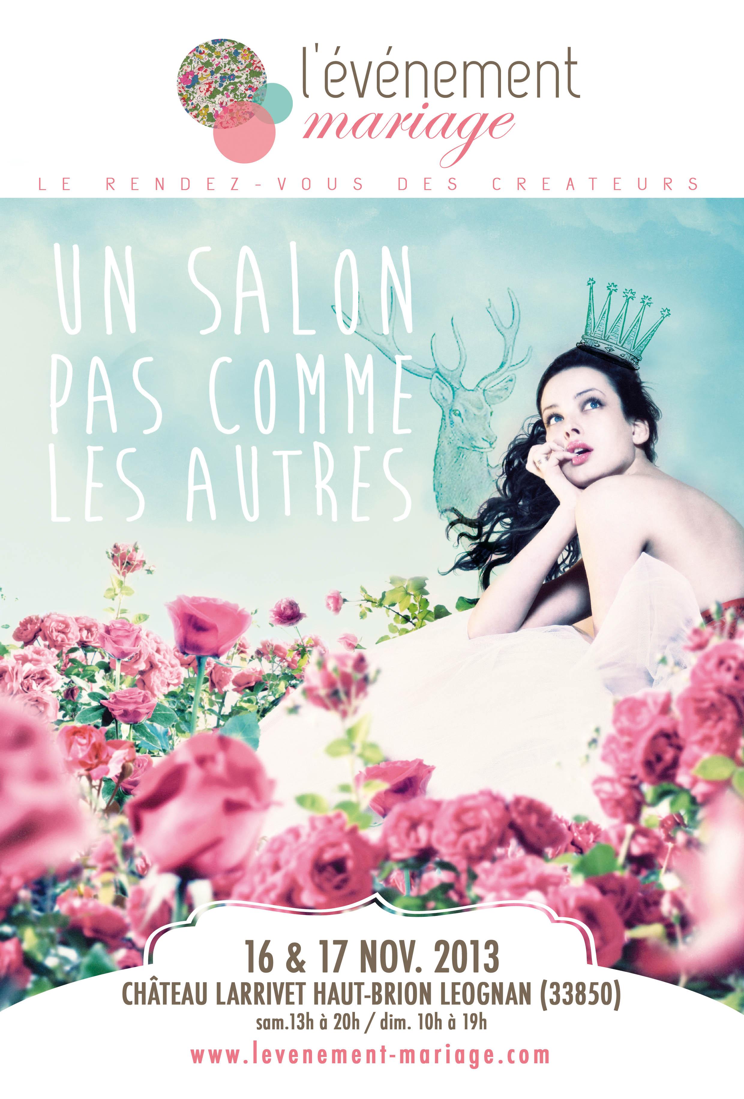 Gagnez vos places VIP pour l'Événement Mariage de Bordeaux {16-17 Novembre 2013}