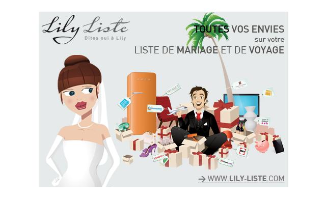 Où Créer ma liste de mariage ? Chez Lily Liste bien sûr !