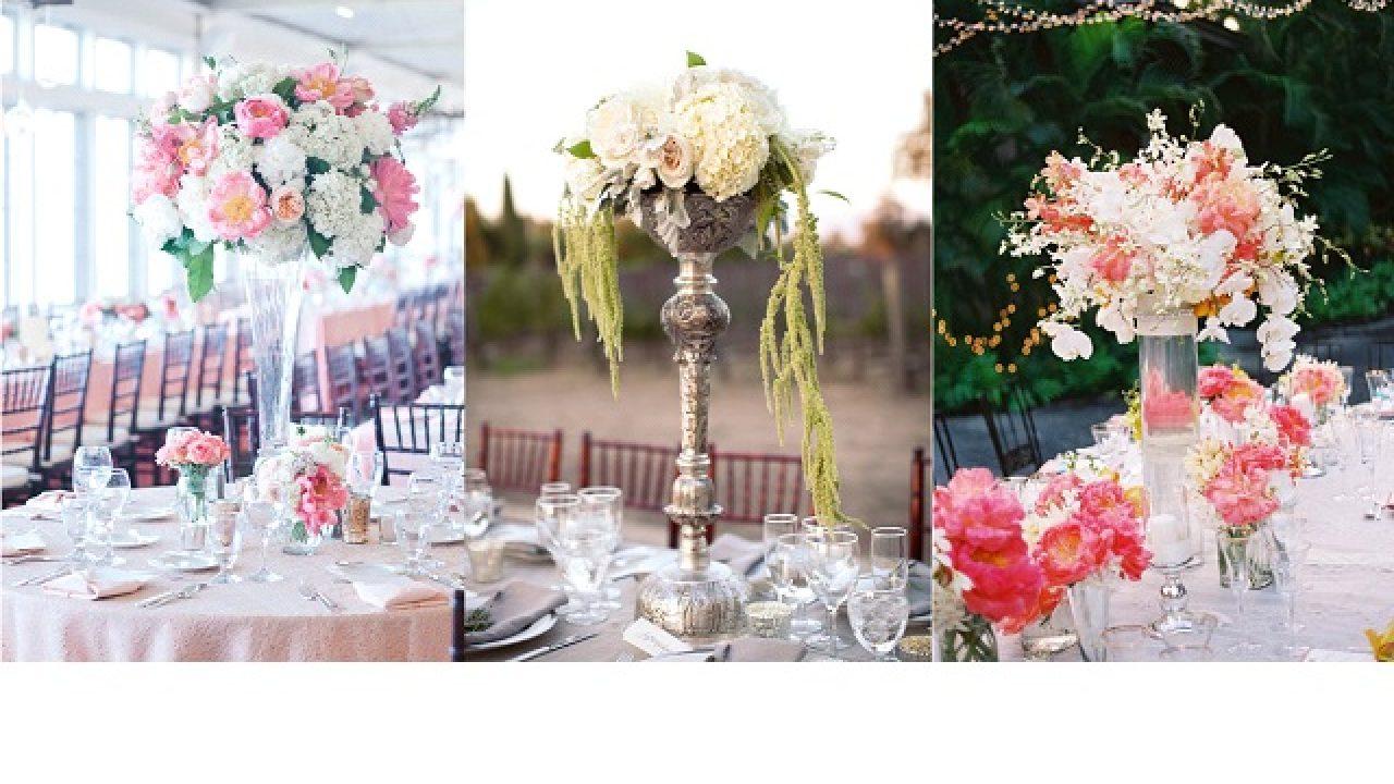 Centre De Table Design décoration mariage} 10 centres de table hauts