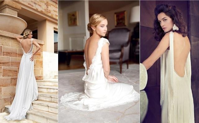 Collection 2014} 10 Robes de Mariée décolletées dans le dos