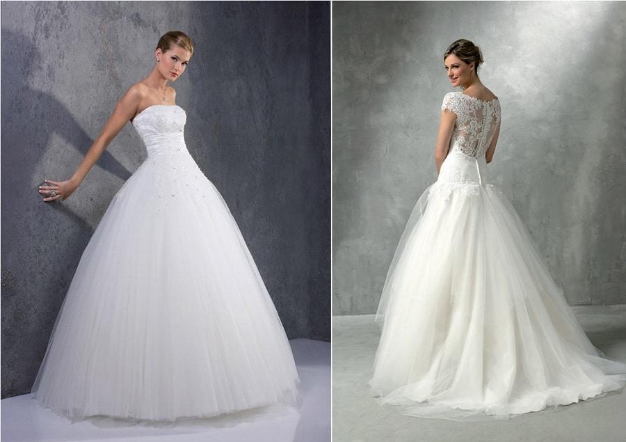 Jolie robe de mariage for Dallas de conservation de robe de mariage