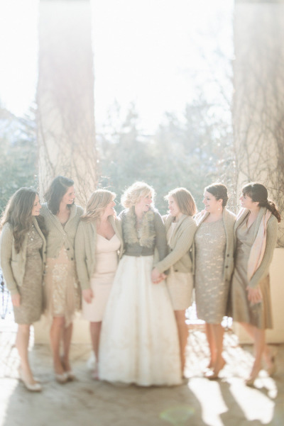 Mariage hiver la mari e en col re blog mariage grossesse voyage de noces - Decoration mariage hiver ...