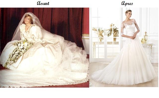 OUI ! La robe de mariée princesse fait toujours rêver !