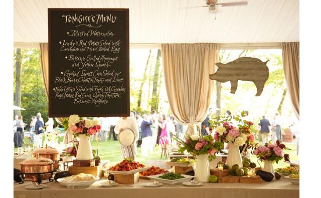 Repas de mariage : et si on faisait un buffet ?