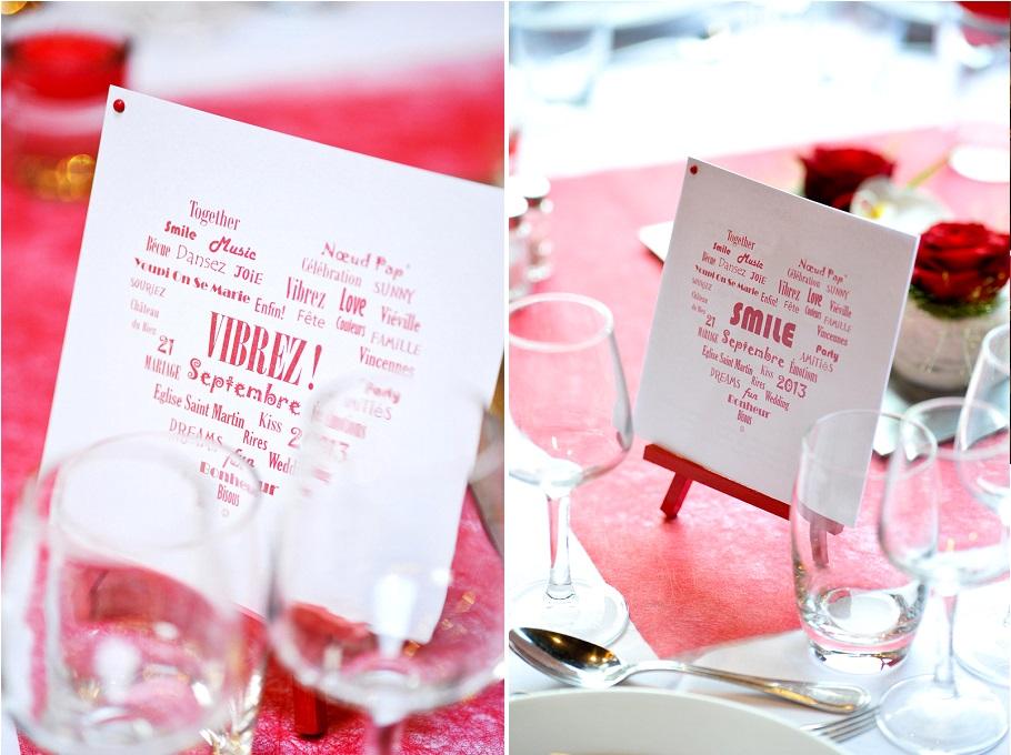 decoration mariage rouge - La Mariée en Colère Blog Mariage ...