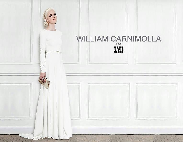 robe de mariée william carnimolla pour tati 2014