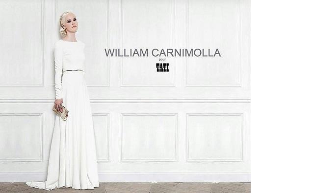 Robe de Mariée : William Carnimolla pour Tati 2014