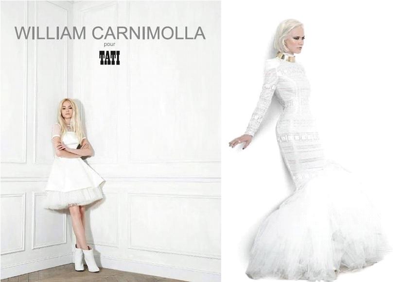 Robe De Mariee William Carnimolla Pour Tati Mariage 2014