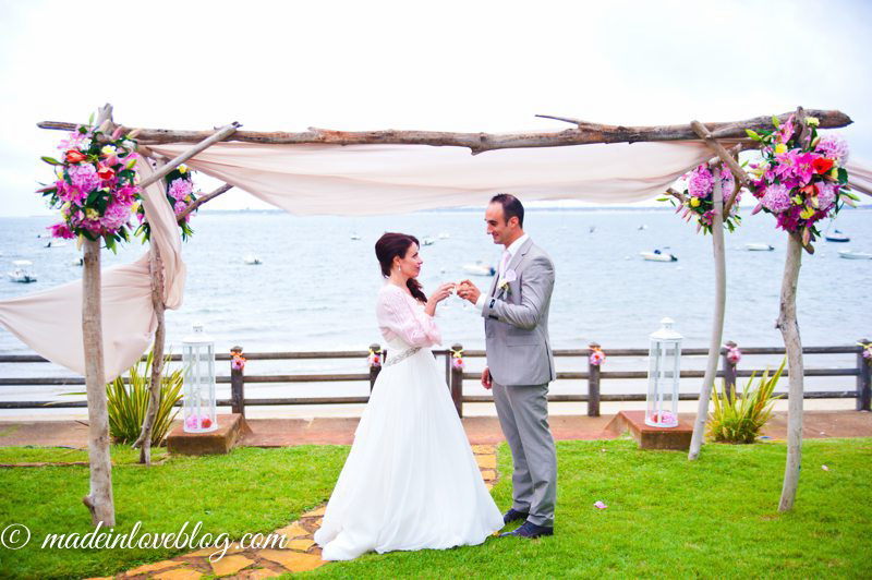 Préférence Vrai Mariage {Christelle & Julien} Décoration thème Bord de mer SC32