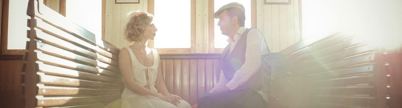 {Shooting d'inspiration} Mariage dans les années 20