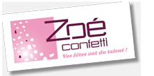 Une jolie boutique pour votre décoration de mariage : Zoé Confetti