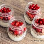 DIY Candy Bar : Petits pots aux fruits rouges