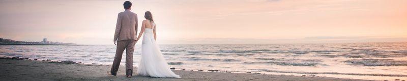 Trash The Dress à la plage {Vicky & Christophe}