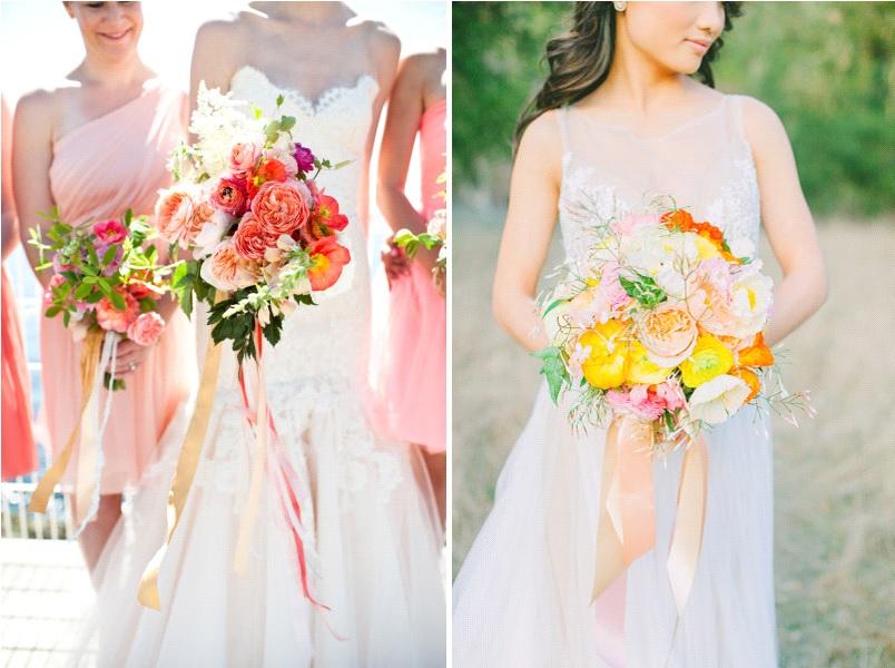bouquet de mariée d'été