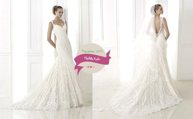 Robes de mariée Pronovias : Collection 2015
