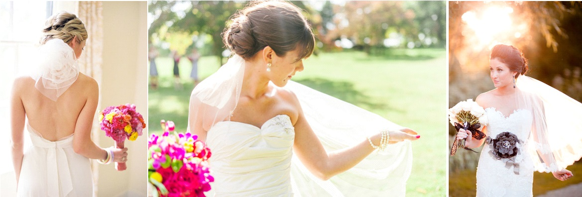 Chignon Voile Mariee Mariage Toulouse