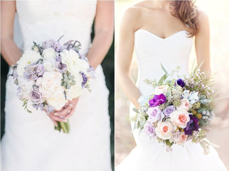 bouquets de mari e violet la mari e en col re blog. Black Bedroom Furniture Sets. Home Design Ideas