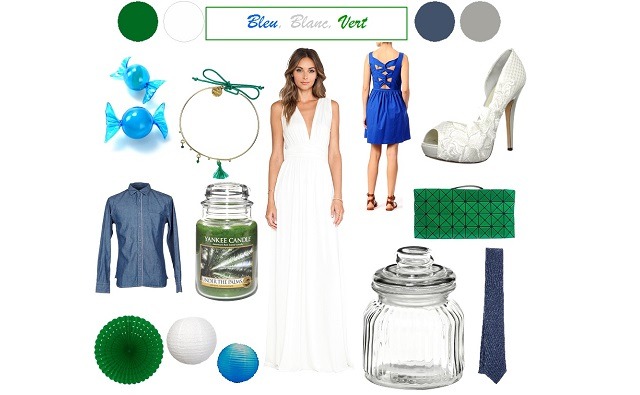 deco mariage bleu vert id es et d 39 inspiration sur le mariage. Black Bedroom Furniture Sets. Home Design Ideas