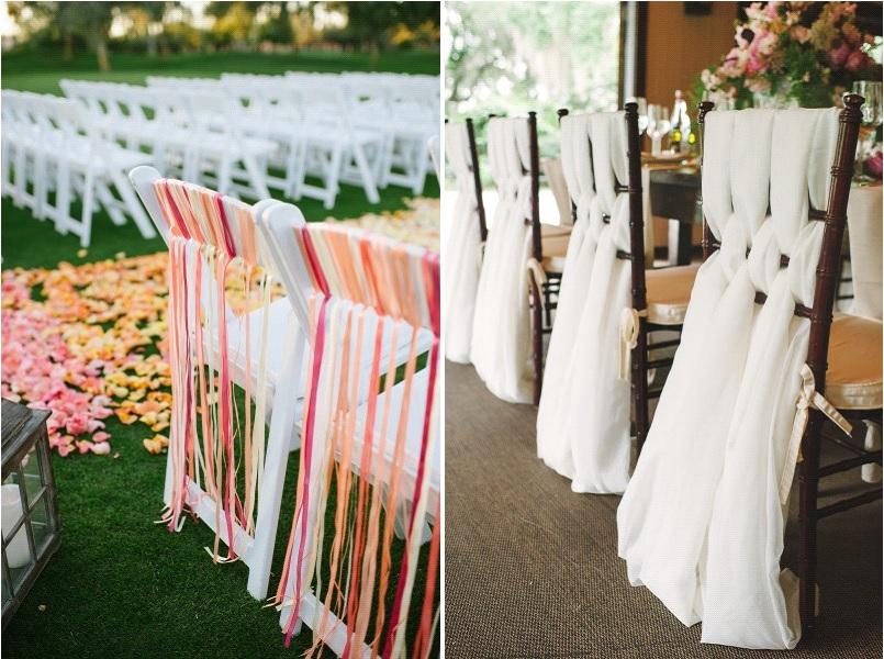 habiller des chaises en plastique pour un mariage modeles