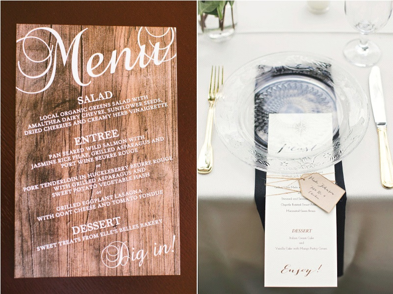 Id es menus mariage for Idee de menu original