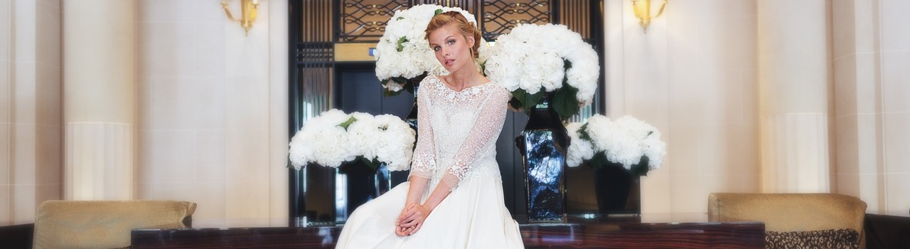 Robe de mariée : Fanny Liautard 2015