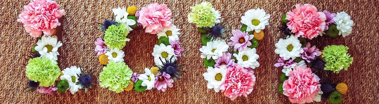 {Décoration} DIY mariage : Les lettres fleuries
