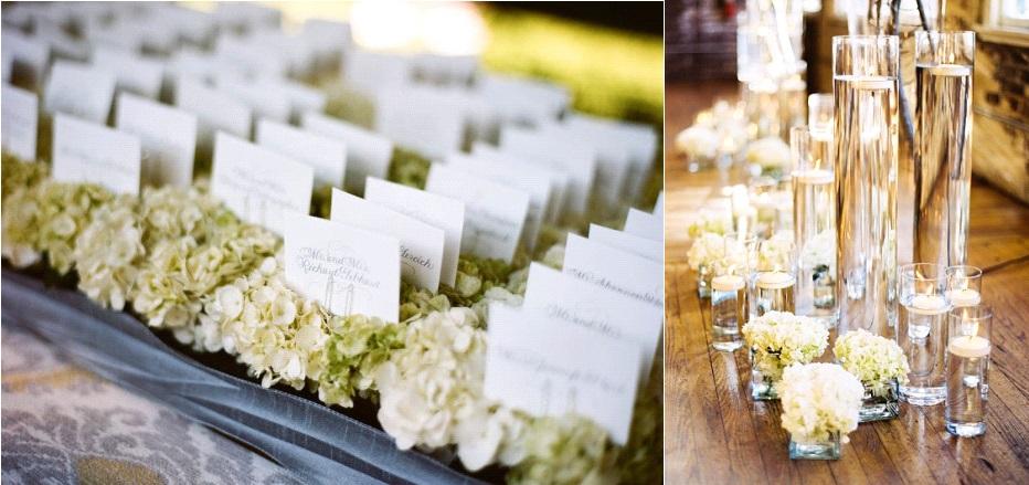 fleurs 10 id es pour d corer son mariage avec des hortensias. Black Bedroom Furniture Sets. Home Design Ideas