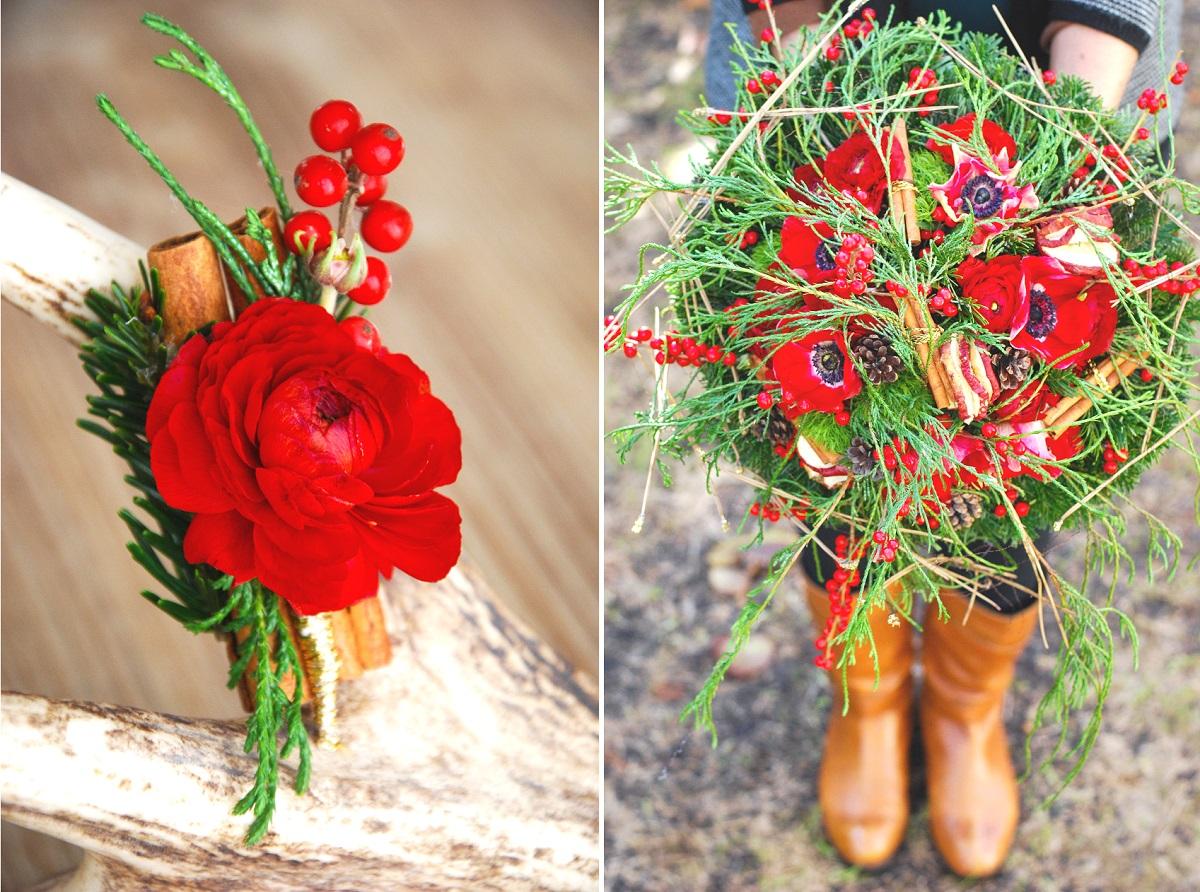 Bouquet de mari e en d cembre 2 la mari e en col re blog mariage grossesse voyage de noces - Bouquet mariee original ...