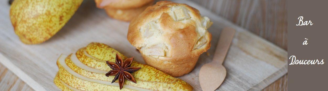 Recette facile : Muffin à la poire gourmand