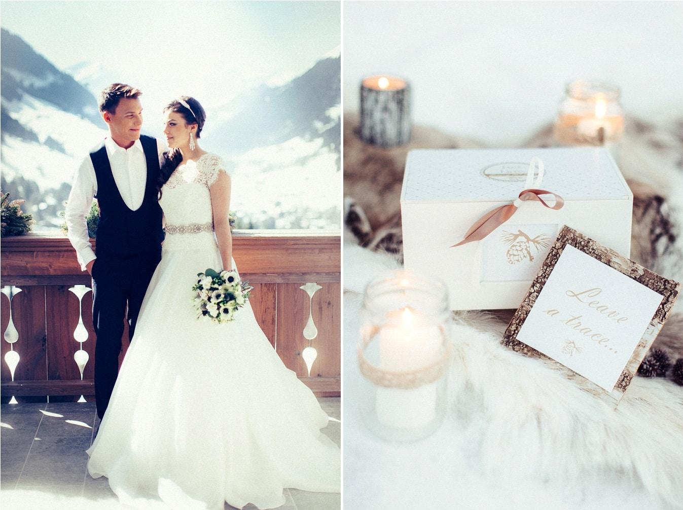 {Inspiration} Un mariage à la neige