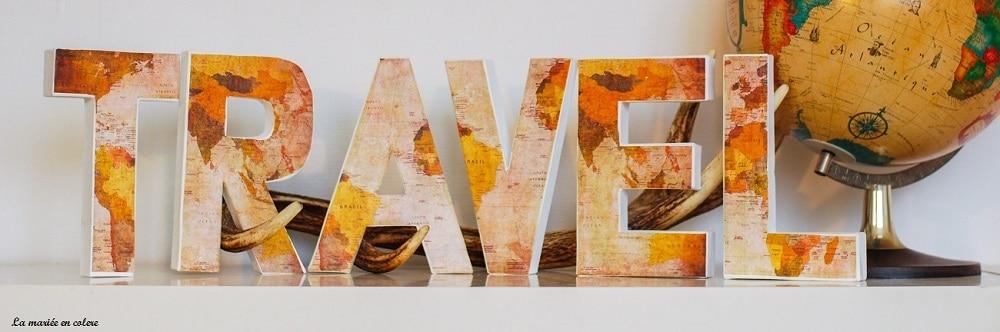 {Décoration} DIY : les lettres décorées