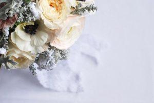 bouquet de mariée janvier