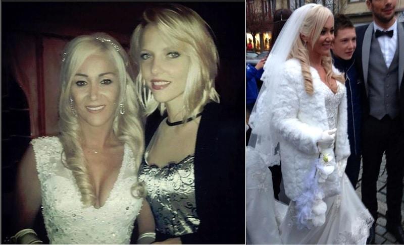 Découvrez les premières photos du mariage de Julie Secret Story 8